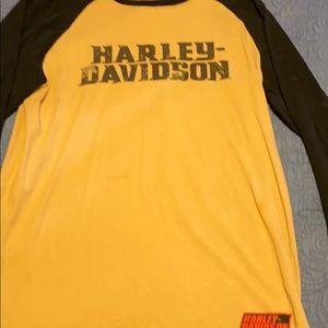 Long sleeve Harley Davidson shirt